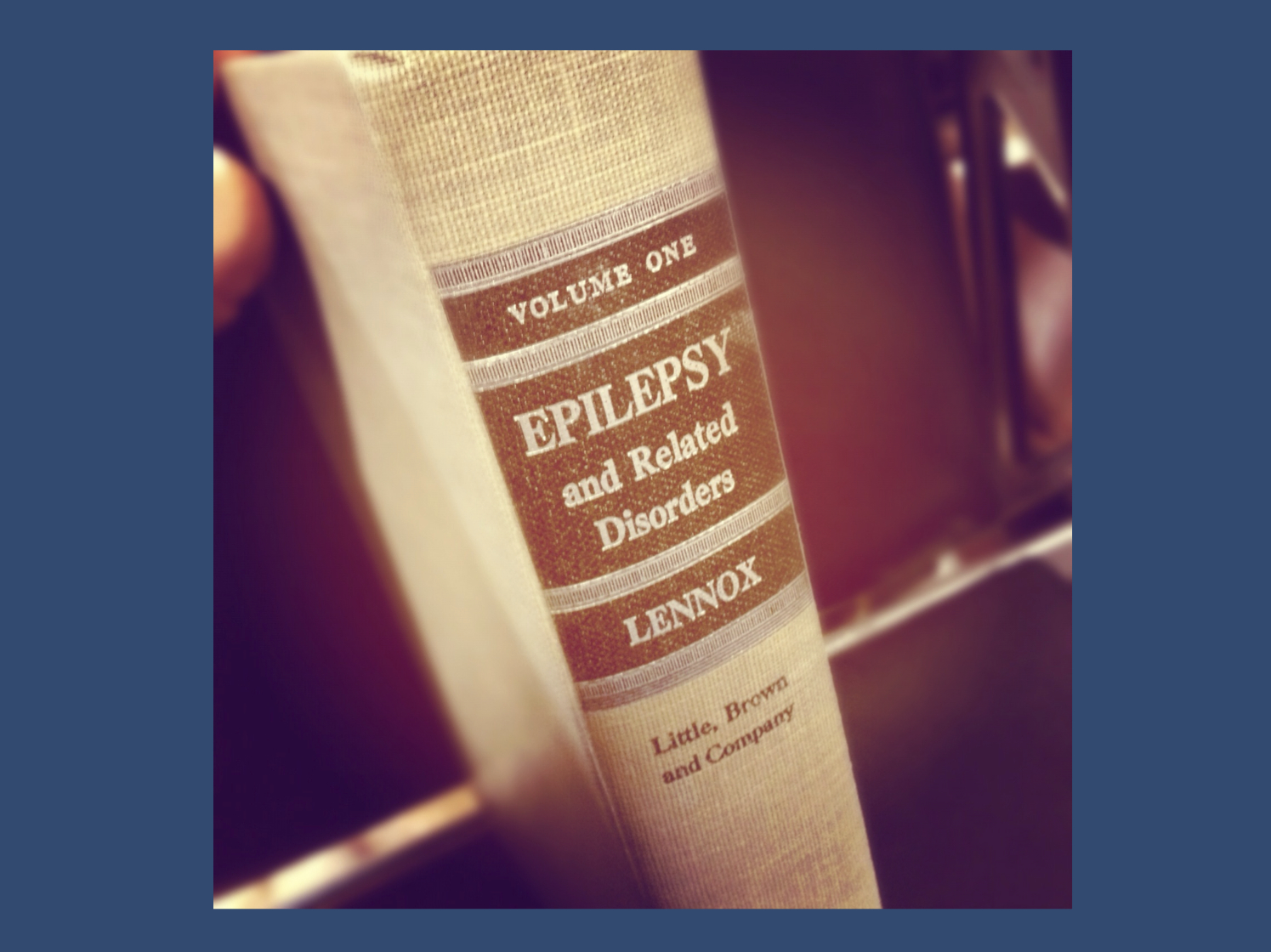 Epilepsy and related disorders is a massive book. One of my anatomy teachers in med school told us that he broke is nose while falling asleep reading a book that dropped down on him. Lennox's opus definitely falls into this category.