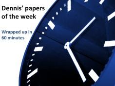 Dennis' paper of the week