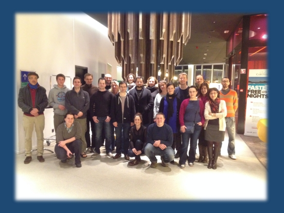 A different kind of re-alignment – the participants of the Leuven EuroEPININOMICS NGS bioinformatics workshop 2014.